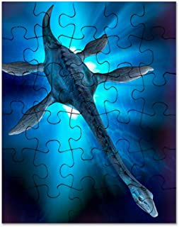 CafePress Loch Ness Monster, Artwork Jigsaw Puzzle, 30 pcs.