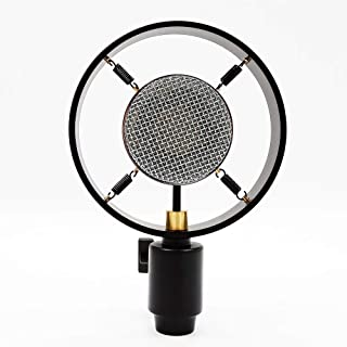 Antique Vintage Classic Studio Church Theater Auditorium Speech Live Vocal 25mm Big Diaphragm Condenser Microphone Vlog Pc Mic