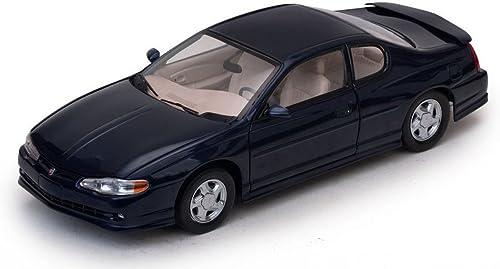 genuina alta calidad SUNSTAR SS1986 CHEVROLET MONTE CARLO CARLO CARLO SS 2000 DARK azul 1 18 MODELLINO DIE CAST  muy popular