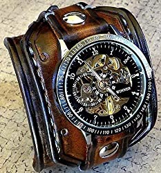 steampunk art projects ~ Steampunk bracelet watch