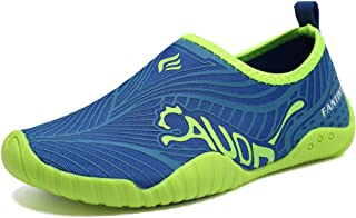 CIOR Kids Toddler Water Shoes Quick-Dry Boys and Girls Slip-on Aqua Beach Sneakers (Toddler/Little Kid/Big Kid)