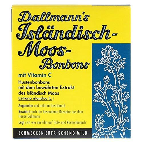 Dallmann's Isländisch-Moos-Bonbons, 20 St. Bonbons