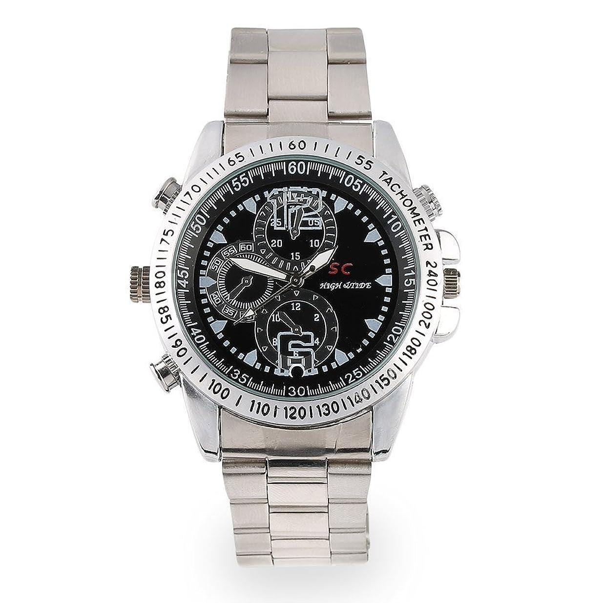 切手デンマーク語あからさま8GB デジタル腕時計 ビデオ&カメラ 防水型 写真画像度1280*960 小型ボイスレコーダー スパイカメラ 防犯