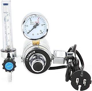 二酸化炭素減圧器 CO2レギュレータゲージ 圧力調整器 CO2溶接 流量計 CO2レギュレーター スピードコントローラー 溶接ゲージウェルダー アルゴンガスメーター溶接作業用 溶接 安全 省エネ(36V)