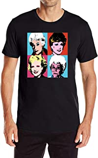 WishCart Golden Girls Men's Fashion Print T-Shirt Short Sleeve Blouse Tank Tops