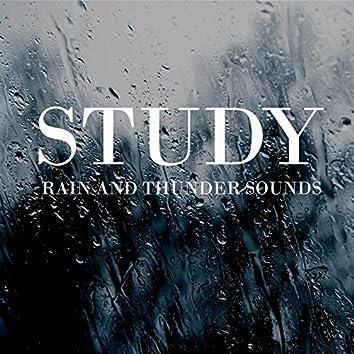 Study Rain and Thunder Sounds