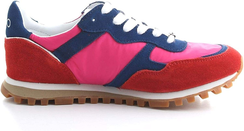 Liu Jo Women's BXX049PX003S17B3 Fuchsia Suede Sneakers