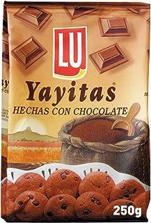 Yayitas con chocolate 250 gr