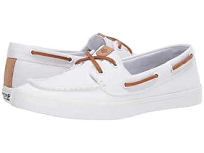 Sperry Sailor Boat Canvas (White) Women