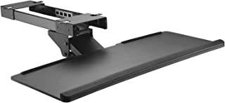 Maclean MC-757 Keyboard and Mouse Holder for Desk, 67 cm Surface