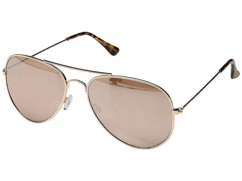 Steve Madden Madden Girl MG492124 (Rose Gold) Fashion Sunglasses
