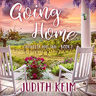 Going Home     Chandler Hill Inn, Book 1              Written by:                                                                                                                                 Judith Keim                               Narrated by:                                                                                                                                 Angela Dawe                      Length: 7 hrs and 56 mins     Not rated yet     Overall 0.0