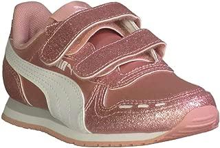 Kid's Cabana Racer Glitz AC Girls Fashion Sneakers Bridal Rose White