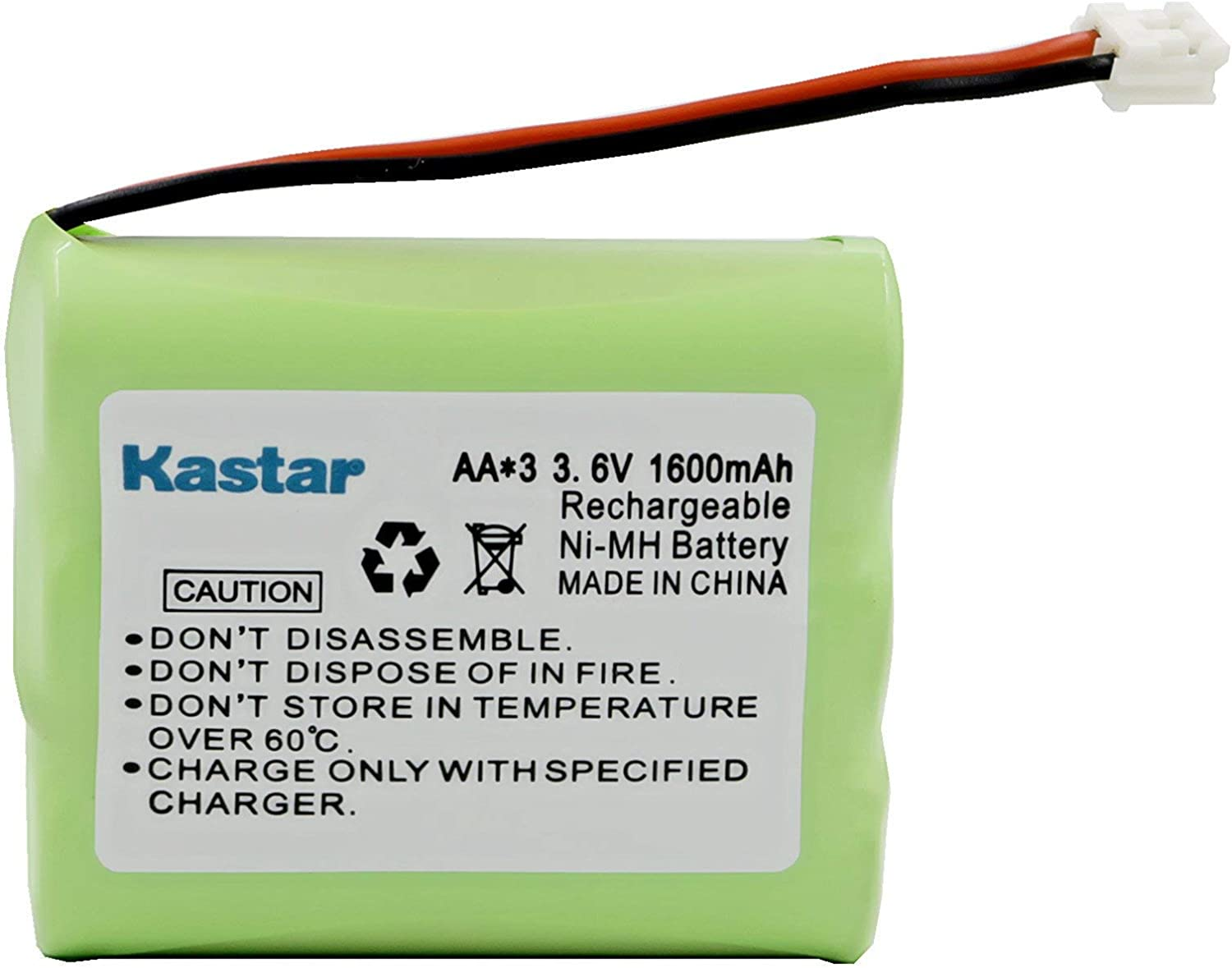 Kastar Rechargeable Cordless Phone Battery Replacement for Vtech 80-5071-00-00 ia5874 ia5876, ia5877, ia5879, AT&T E5909 E5945 9370 9371 9410 9465