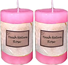 Touch Nature Double Aromatherapy Candles (Rose)