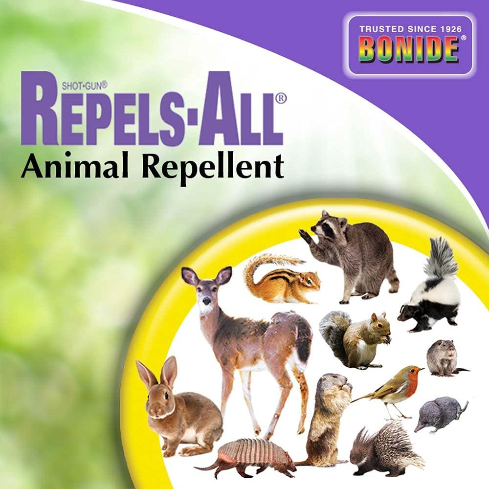 Bonide (BND2362) - Repels-All Animal Repellent, Granules (6 lb.)