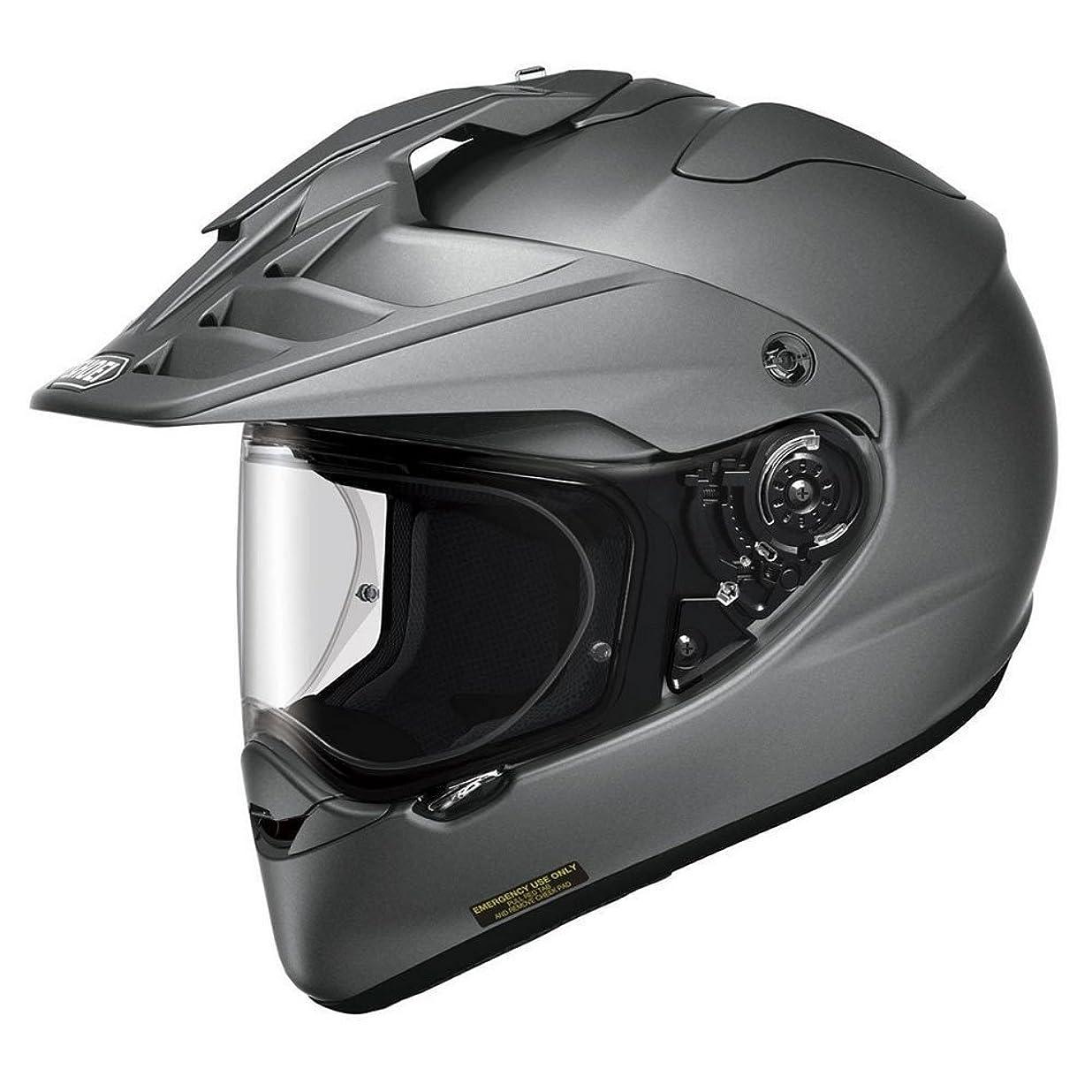 ドリル失態シネウィショウエイ(SHOEI) バイクヘルメット オフロード HORNET ADV マットディープグレー M (頭囲 57cm)