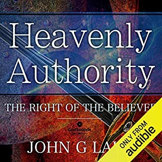 Heavenly Authority audiobook cover art