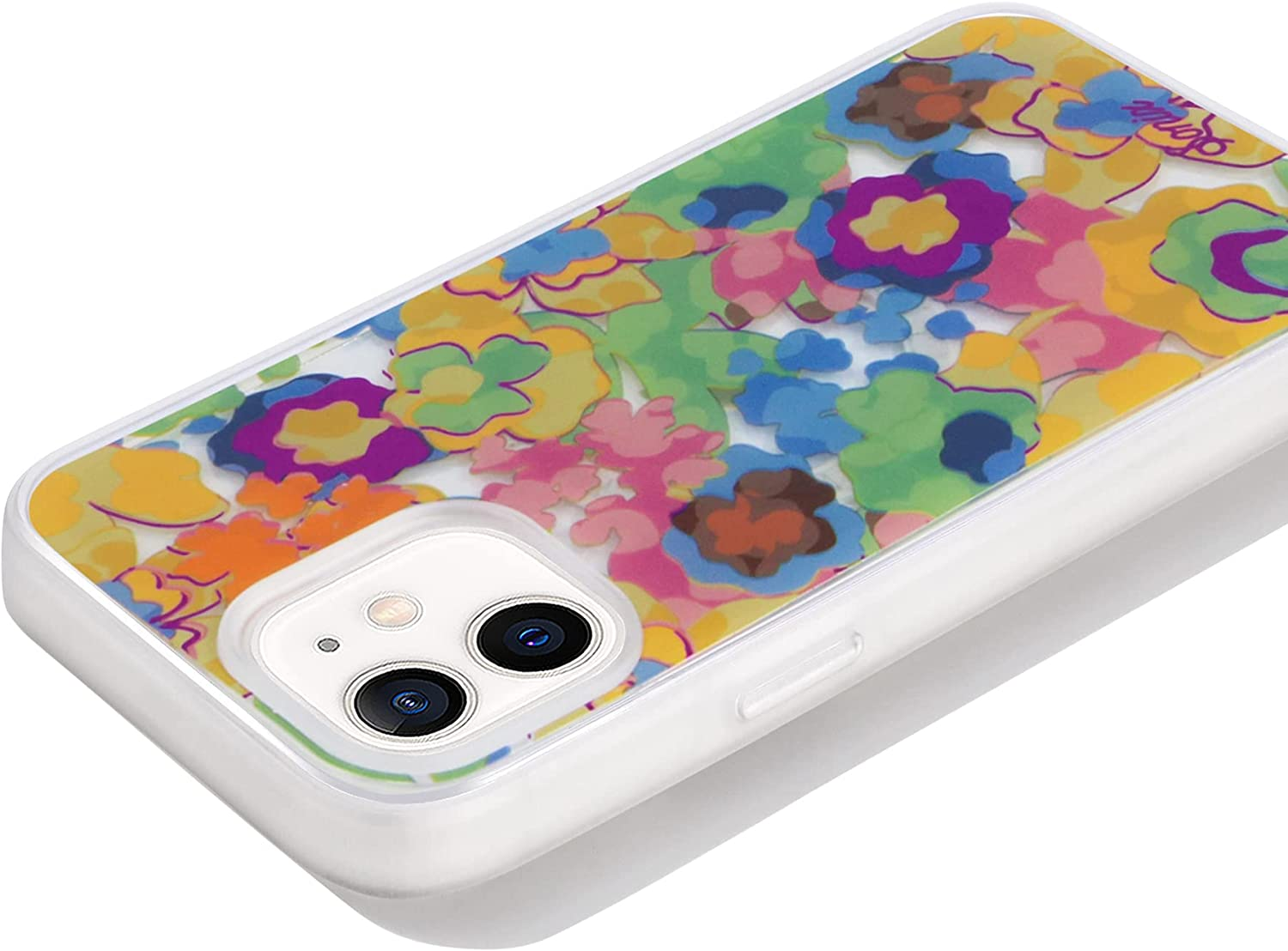 Sonix Bloomy Case for iPhone iPhone 12/12 Pro Featuring Built in Self-Aligning Compatibility with MagSafe Charging [10ft Drop Tested] Protective Abstract Floral Case for Apple iPhone 12, iPhone 12 Pro