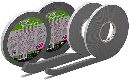 ICUTEC 012 6096 Icutape aussen 60 mm x 25 m Klebeband schwarz