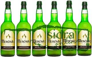 Caja de 6 botellas de sidra ecológica Menéndez
