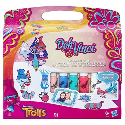 Hasbro DohVinci B8983EU4 - Trolls Poppys Freunde Mobile, Bastelspielzeug