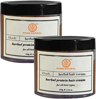 Khadi Swati Herbal Protein Hair Cream- 100g (Set of 2)