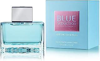 Antonio Banderas Blue Seduction for Women Eau de Toilette Spray 2.7 Ounce