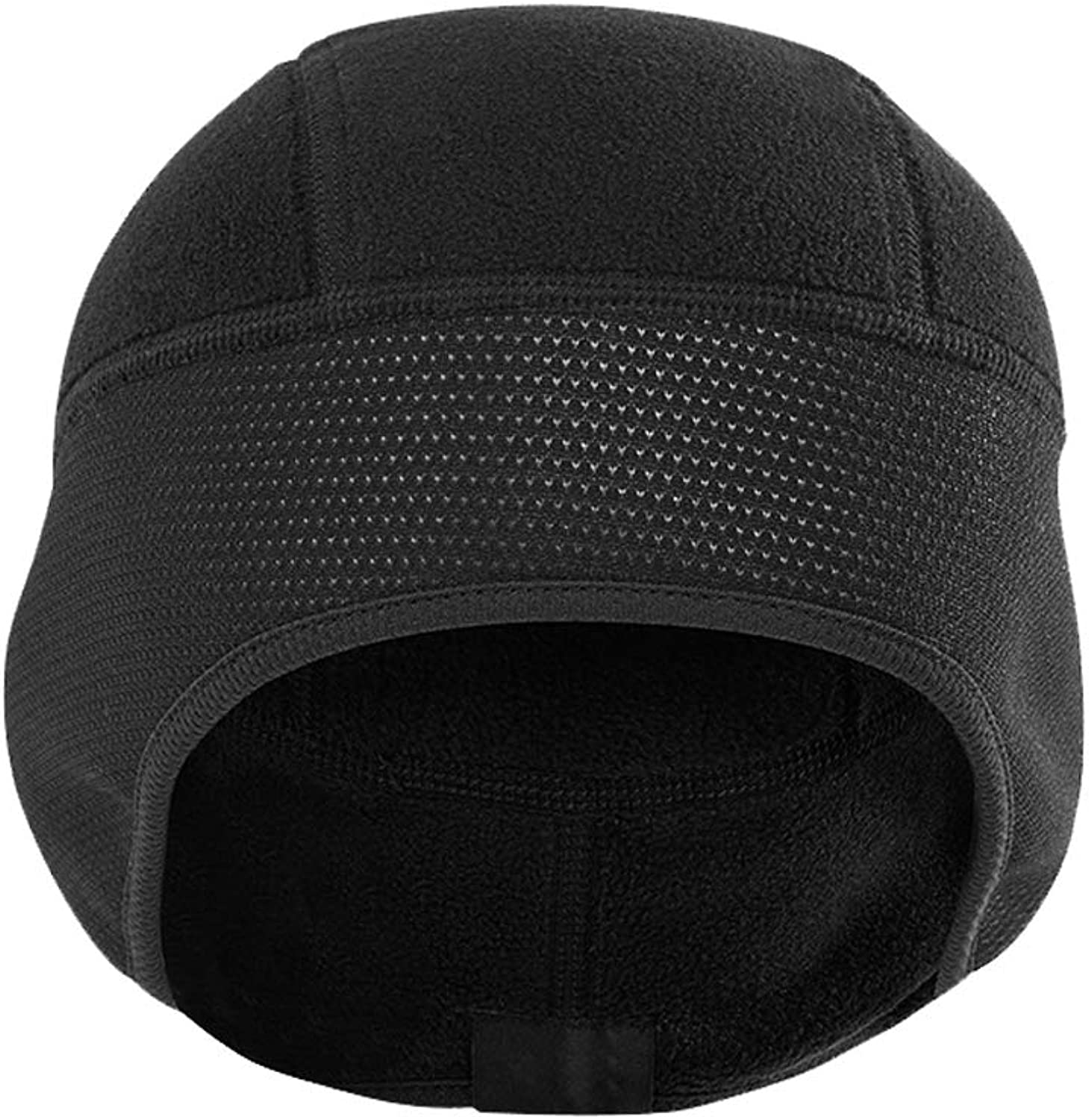 Winter Simple Fashion Windproof Warm Lock Temperature, Elastic Edging ski Headgear Outdoor Cold Riding Electric Motorcycle Head Cap Hood Male Cap, Comfortable and Stylish Nosterappou