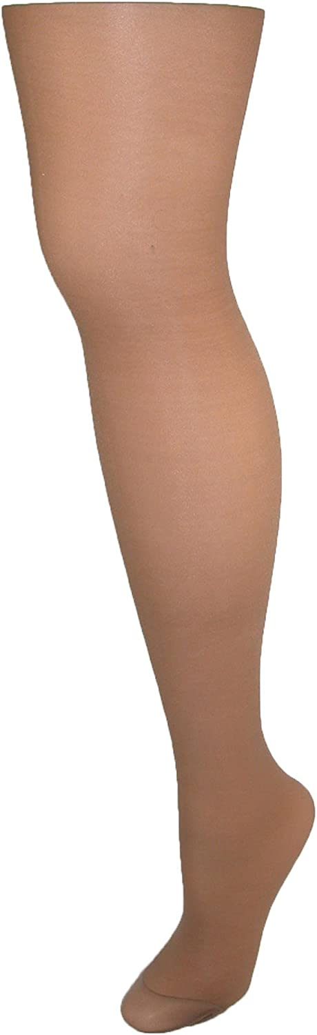 Hanes Women`s Alive Full Support Control Top Reinforced Toe Pantyhose