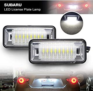 LED License Plate Light for Subaru BRZ - NSLUMO Led Number Plate Lamp Rear Registration Tail License Plate Light Bulb OEM Fit for Subaru BRZ WRX Toyota 86 GT86 FT86 Scion FR-S (FT-86, Subaru)