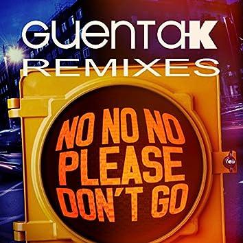 No No No (Please Don't Go) (Remixes)