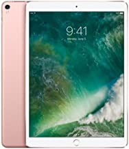 Apple iPad Pro 10.5in 64GB WiFi Rose Gold (2017) (Renewed)
