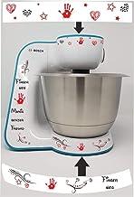 Sticker geschikt voor Bosch MUM 5 Mamis beste rood