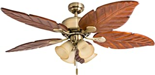 Honeywell Ceiling Fans 50504-01 Royal Palm Ceiling Fan, 52
