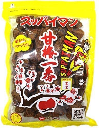 上間菓子店 スッパイマン 甘梅一番 袋入 180g (40袋)