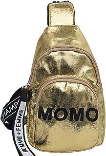 LQQSTORE Damen Ümhängetasche Crossbody Wild Messenger Tasche One-Schulter Klein Quadrat Tasche (Gold)
