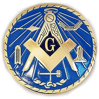 Masonic Car Decal WT The Masonic Exchange TME-EMB-00013-3