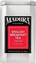 Madura English Breakfast Loose Leaf Tea in Tea Caddy, 1 x 200 g