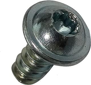 ISR de/acero inoxidable 50/tornillos de cabeza plana con brida y /- ISO 7380-2 TX V2A A2
