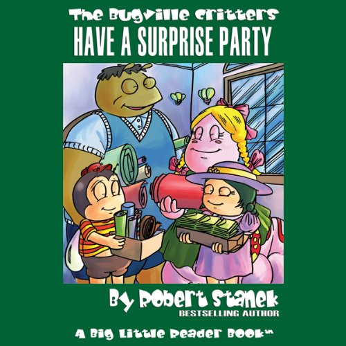 The Bugville Critters Have a Surprise Party audiobook cover art