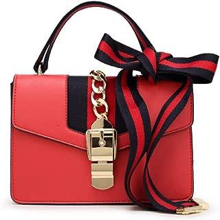 Women's Handbag Fashion Versatile Satchel Multi-Function Mini Handbag, Cross Body Bag with a Bow Tie