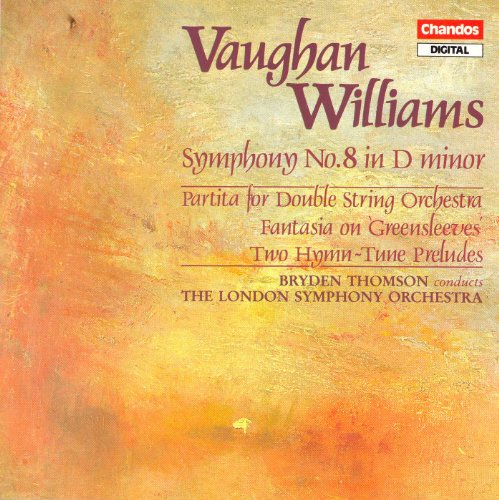 Vaughan Williams: Symphony No. 8 / 2 Hymn-Tune Preludes / Fantasia On Greensleeves / Partita