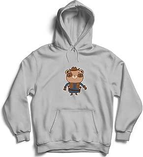 Sheriff Teddy Bear Western_006188 Hoodie Pullover Sweatshirt Sweater For Her Him