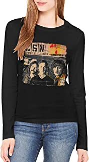 Crosby, Stills & Nash Greatest Hits Women Long Sleeve Tshirts XL Black