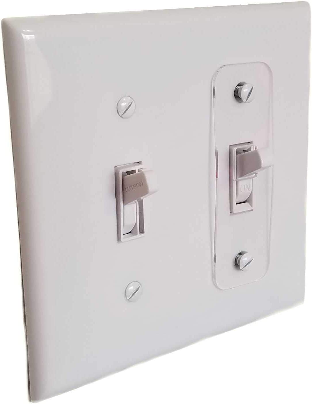 5pc Toggle Switch Light Switch Locks, Child-Safe, Residential, Lighting, Ect.