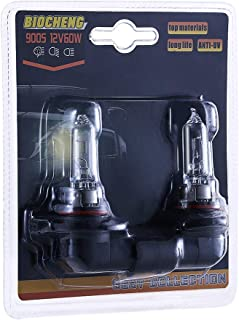 9005 HB3 Halogen Headlight Bulb 12V 60W High Performance Replacement Bulb, Long Life 12 Months Warranty, 2 Pack (BCHG-002-9005)