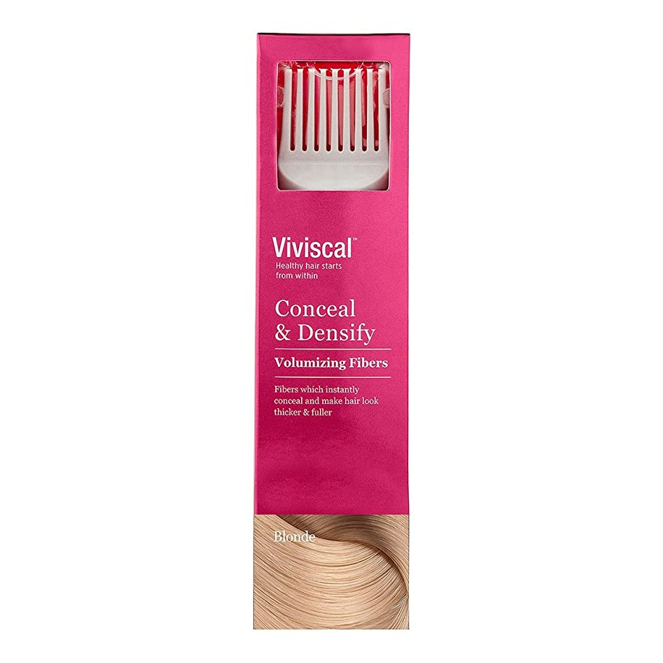 修道院なぞらえる信者Viviscal Conceal And Densify Volumizing Fibres Blonde 15g [並行輸入品]