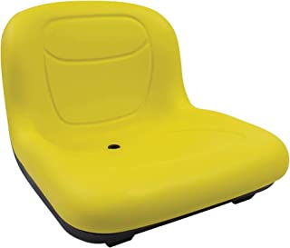 Stens High Back Seat, John Deere AM131531, ea, 1, Yellow