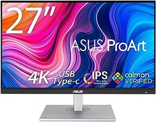 ASUS 4K モニター 27インチ PA279CV-J (無輝点交換保証/HDR/IPS/USB Type-C,DP,HDMI/高さ調整/回転/SRGB100%/Rec.709/Calman Verified/ProArt パレット搭載)